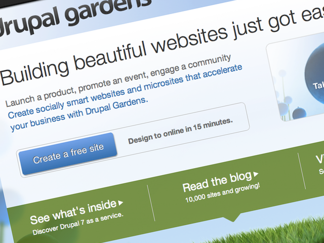 The hosted version of Drupal is one of the latest entries in the market.