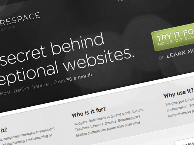 Squarespace is known as a popular platform for bloggers.