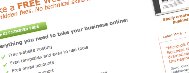 Microsoft Office Live has been targeted at small businesses, but how does it fare in comparison to SiteKreator or Adobe Business Catalyst?