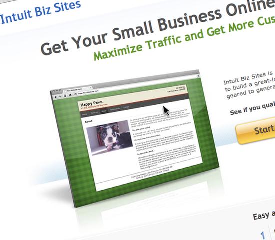 Intuit Biz Sites Beta