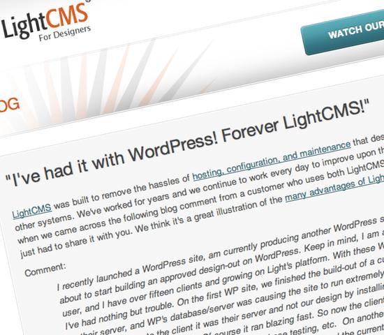 I've had it with WordPress!