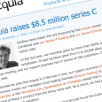 Acquia, owners of Drupal and Drupal-based hosted website builder DrupalGardens announced on November 1 that it had raised $8.5 million in Series C funding.
