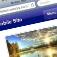Today, Weebly (affiliate link), see our review here) announced it has started beta-testing mobile versions of clients' websites. From the Weebly announcement: When creating your website with Weebly, you shouldn't...