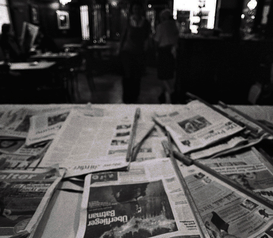 Weekend Read Newspapers