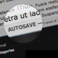 Over the past week, SquareSpace rolled out a new autosave feature for all its users.