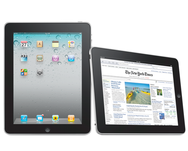 The Rise of Mobile - Apple iPad 2up