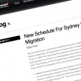 For the third business day in a row some Business Catalyst users are experiencing slowdowns. The problem, according to the Business Catalyst blog, is its Sydney datacenter.