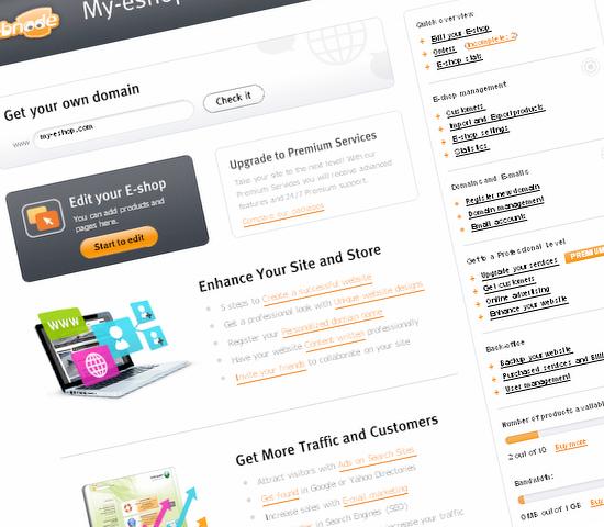 Webnode Eshop Updates
