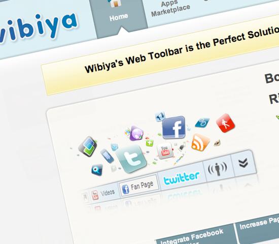 Webs.com Wibiya Toolbar